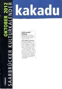2012 10- Artikel Jaensch-Kakadu